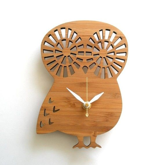 this is the kind of clock that one could make knock-knock jokes about