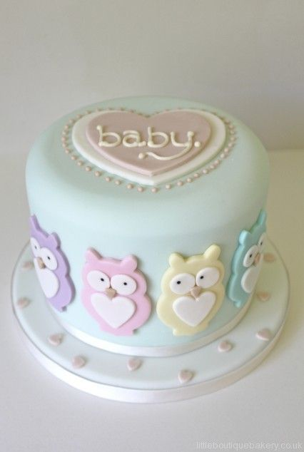 Baby Shower Cake Nuetral