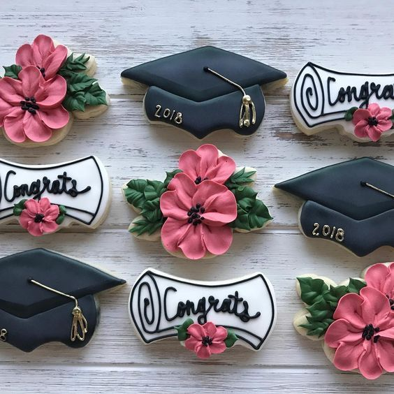 25 ideas for the best graduation cookies so you can congratulate the young graduate in the most delicious way