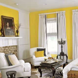 105 Best Black Yellow And White Images On Pinterest  Home Ideas Fascinating Yellow Living Rooms Inspiration
