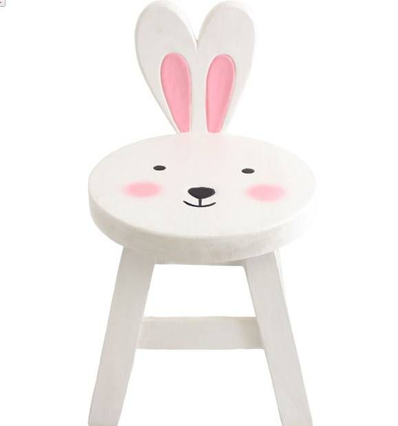Childs Bunny Chair In 2019 Kids Furniture Wooden Rabbit
