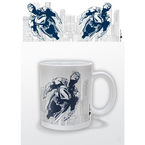 mug blanc man of steel bleu superman superman pinterest man of steel acier et mugs. Black Bedroom Furniture Sets. Home Design Ideas