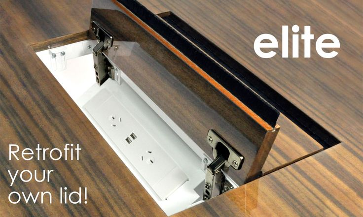 The #ELITE has arrived! Customise your own In Desk box by using your existing table materials! See more at
