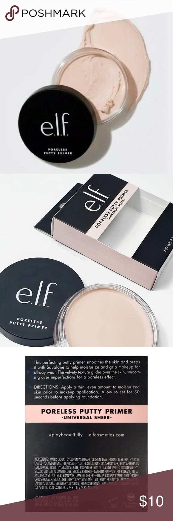 ⭐️[e.l.f. Cosmetics] BNIB Poreless Putty Primer Makeup