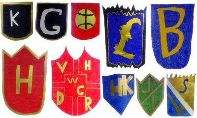 Heraldiikka - oma vaakuna heraldiikan säännöin.