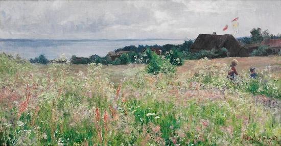 Kitty Kielland (1843-1914): Høysommer 1893
