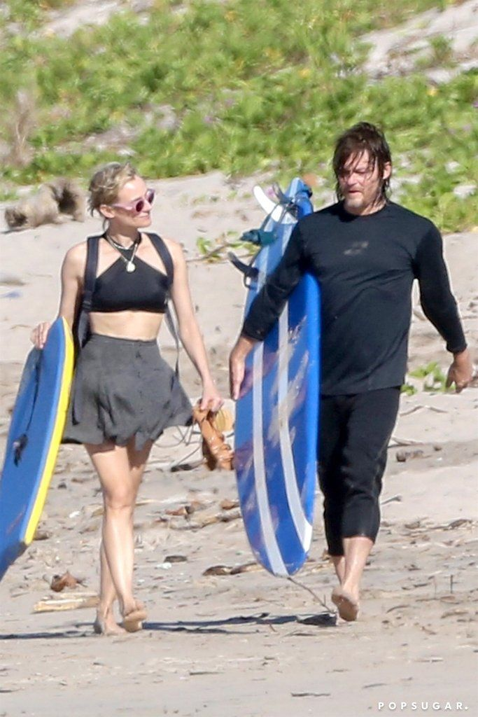 10 Photos Of Diane Kruger And Norman Reedus S Romance That Prove Love Isn T Dead Norman Reedus Diane Kruger Norman