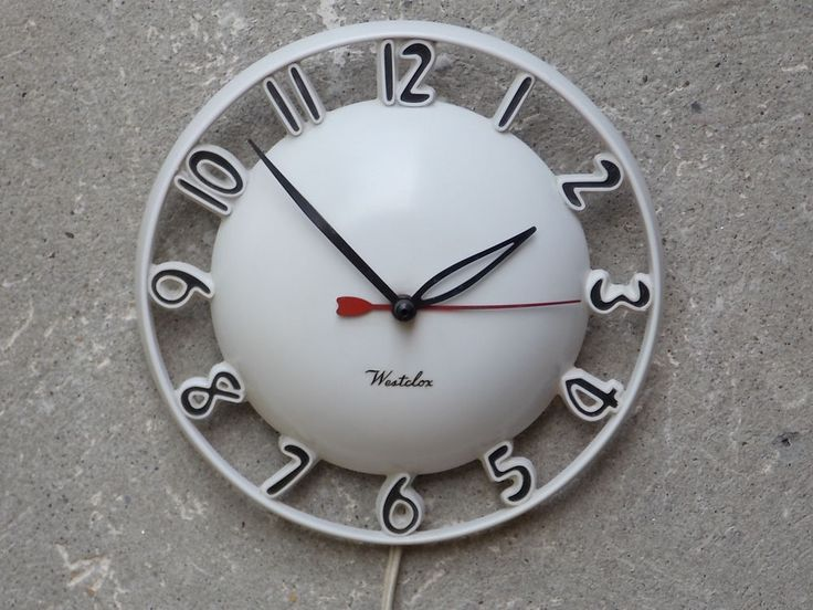 1000+ Images About Very VTG Kitchen Clocks On Pinterest