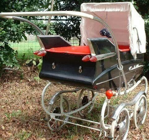 Baby carriage rockabilly style.......for my future babies ;)