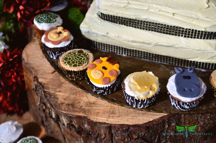 african themed cupcakes
