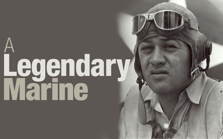 """69 years ago today, legendary WWII ace """"Gregory """"Pappy"""" Boyington"""" makes final flight"""