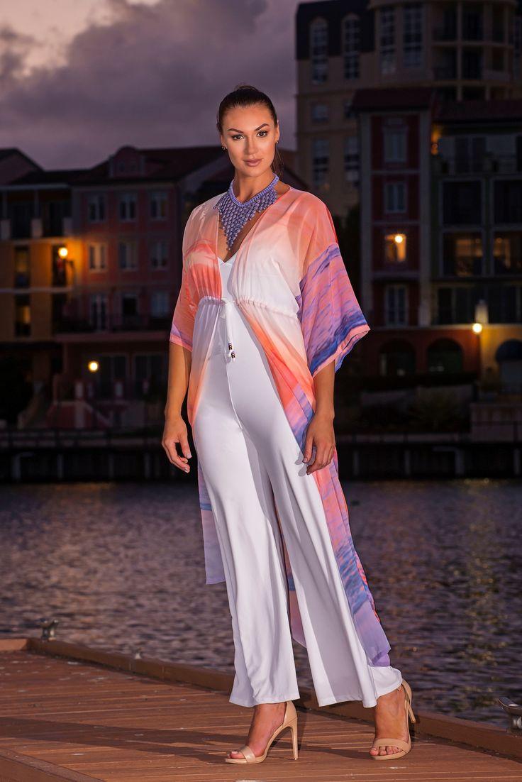 """""""Heaven"""" Kimono Robe / Model - Brittany Capps / Photo - John Pryke"""