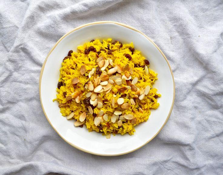 Turmeric Rice & Almonds