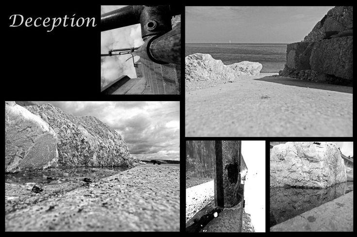Deception  Collection Black & White  A3 Unframed Print