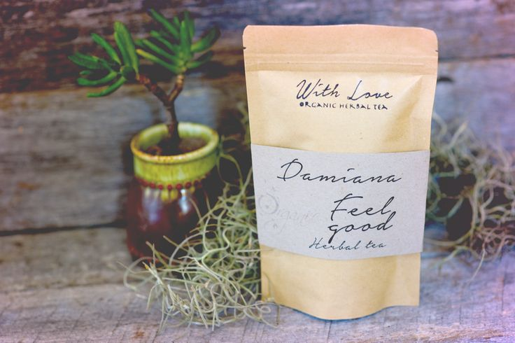 With Love Teas offers Damiana, the feel good tea!  Damiana as a tea is a tonic for the kidneys, the sexual organs and the nervous system. It is excellent for balancing the hormones and the emotions. The effect of this tea is definitely more noticeable when one is feeling down, out of sorts, grumpy, angry or upset, giving one an immediate and natural feeling of well-being. It's an aphrodisiac tea, it is also a proven natural anti-depressant and a calming tonic.