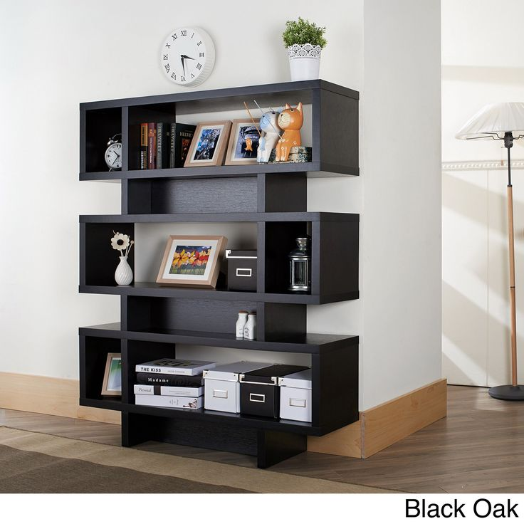 12 best ideas for apartment images on pinterest family for Furniture of america nara contemporary 6 shelf tiered open bookcase