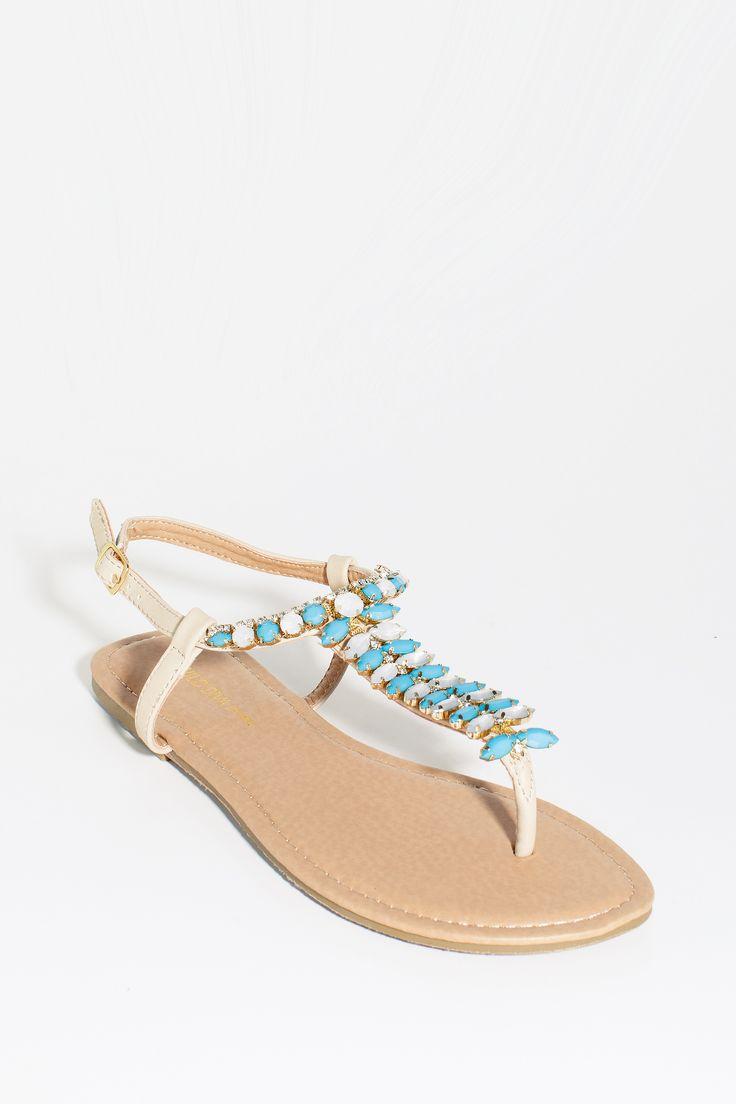 Women's Sandals | Leann-217 Bold Gems Sandal | A'GACI