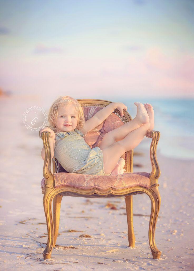 2 year old toddler child beach photo in chair  tutu du monde sarasota bradenton longboat key beach photography