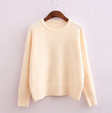 Cute kawaii candy color sweater- the colors are so beautiful; want them all ^^
