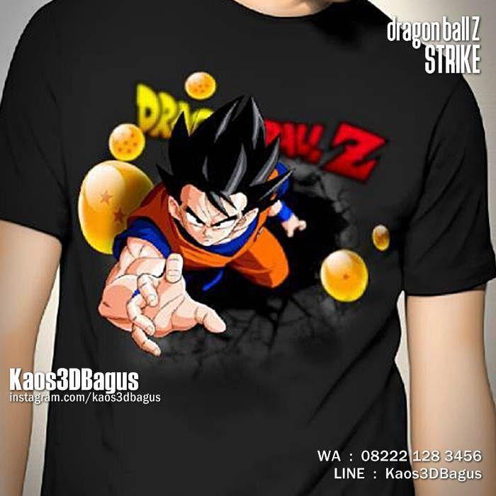 Kaos3D, Dragon Ball Z STRIKE, Kaos Gambar SON GOKU, Kaos Karakter, https://instagram.com/kaos3dbagus, WA : 08222 128 3456, LINE : Kaos3DBagus