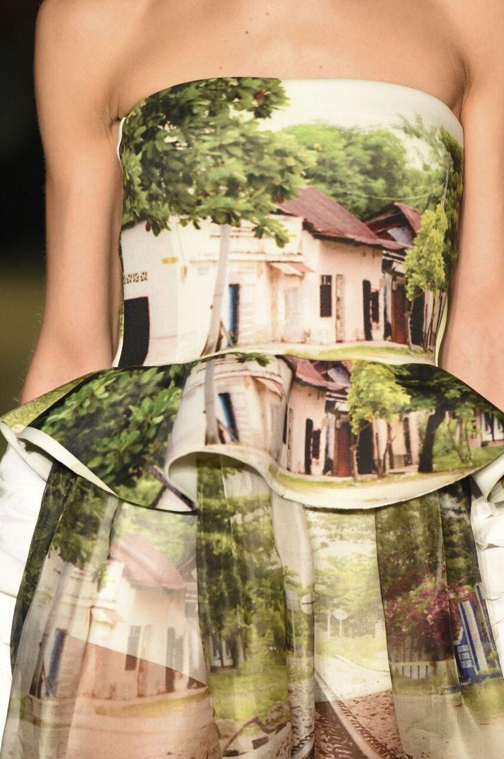 Peplum- summer gown