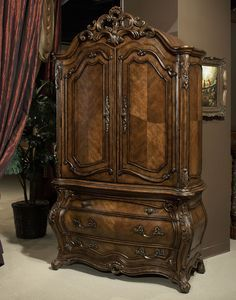Palais Royale Armoire by AICO - Home Gallery Stores