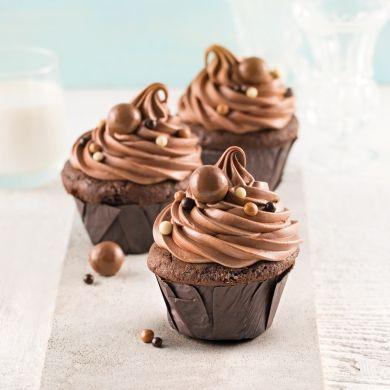 Cupcakes chocolatés - Recettes - Cuisine et nutrition - Pratico Pratique
