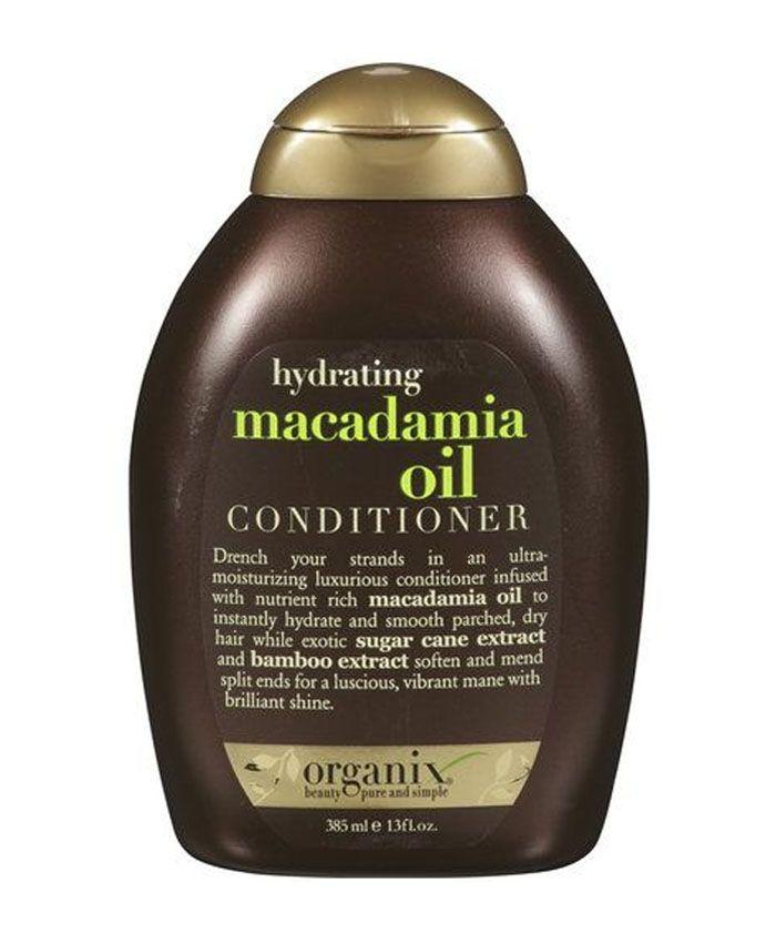 Кондиционер Organix с маслом макадамии, экстрактом сахарного тростника и бамбука - это ультра-увлажняющая формула для волос.