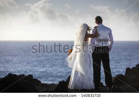 Stock Images similar to ID 140784397 - newlyweds kissing on the road ...