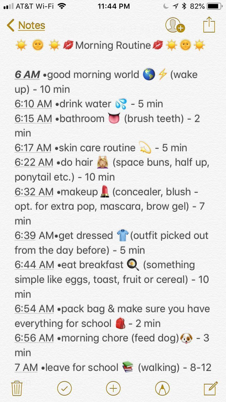 My School Morning Routine Of A 8th Grader 📚✅….