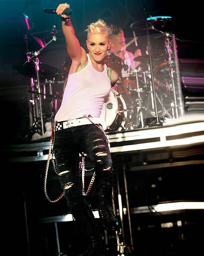 I love the fun look of this. <3 Gwen's style sexy but fun her own style Gwen Stefani Style Gallery – View 23 Photos of Gwen Stefani - ELLE