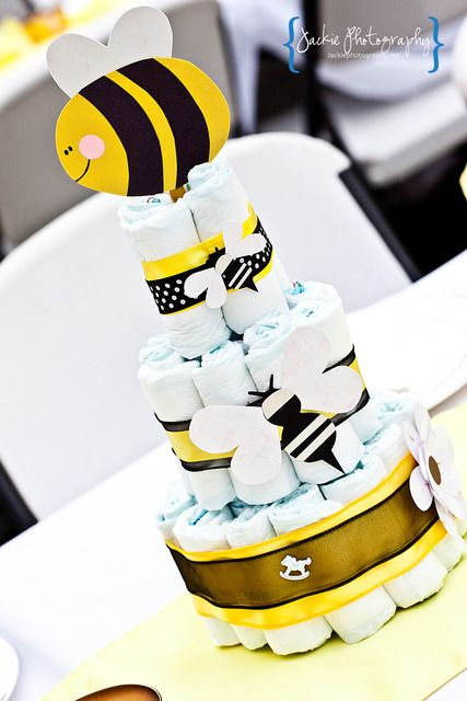 """Photo 1 of 20: Bumble Bee Baby Shower / Baby Shower/Sip & See """"Mom To BEE!"""" 