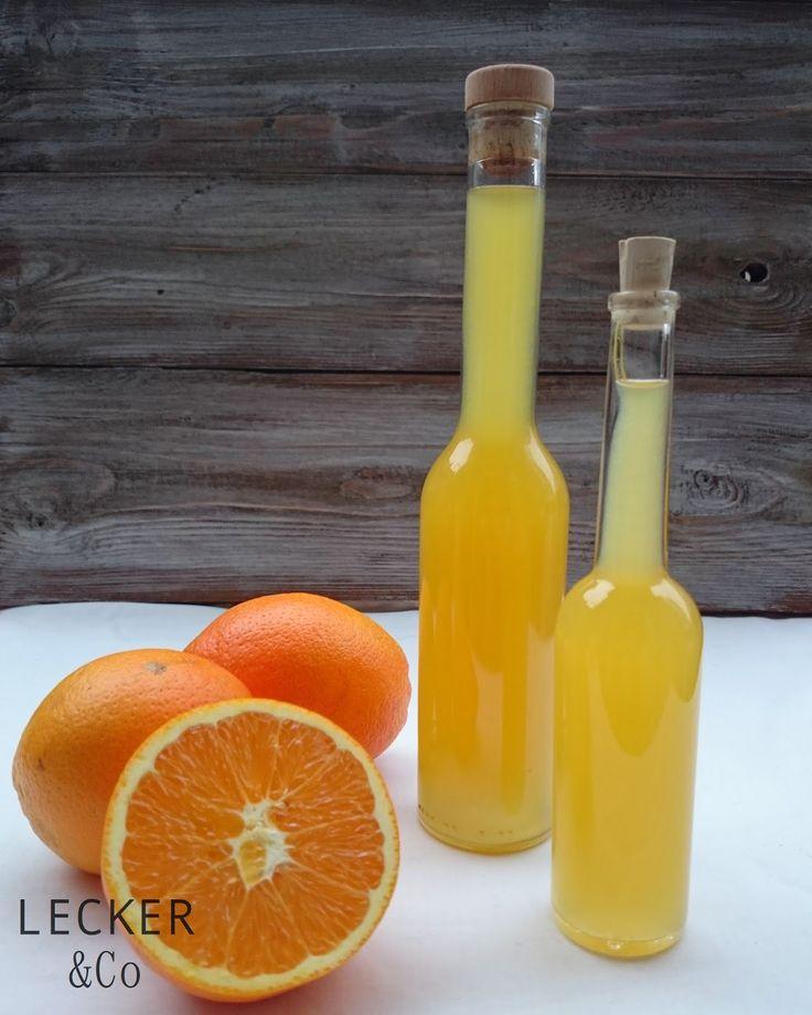 lecker & co: Orangenessig mit Honig Das braucht ihr:  3 Bio-Orangen (350 ml Orangensaft frisch gepresst) 3 EL Honig 350 ml weißer Essig (Aceto Balsamico Bianco)