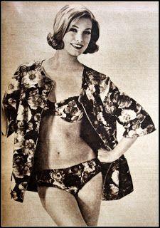 OĞUZ TOPOĞLU : 1962 senesi mayo bikini plaj kıyafetleri tunmer tr...