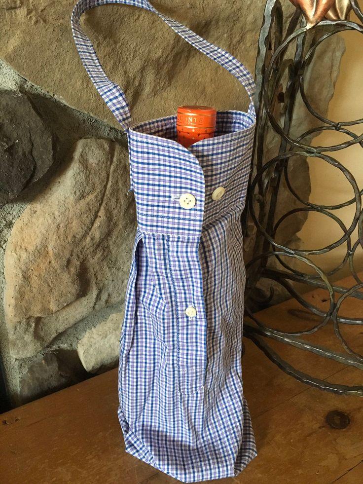 Wine bottle holder wine lover gift eco friendly gift wrap