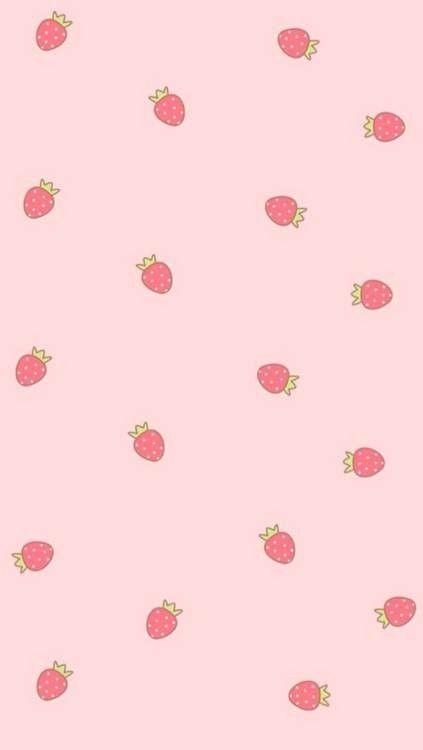 kawaii strawberry wallpaper vintage - photo #3
