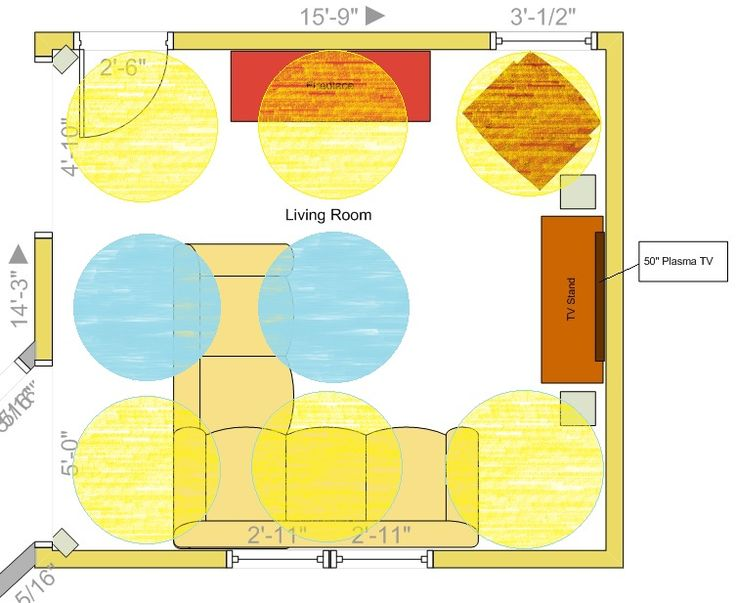 I Am Having Trouble Deciding On Placement For Recessed Lighting In My Living Room And Could Use Some Advice