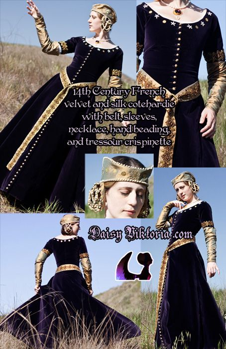 men sports shoes on sale late 14th century French cotehardie. She did it right down to the hair casements! | Renaissance Faire/Steampunk |  | Purple Velvet, 14th Century and V…
