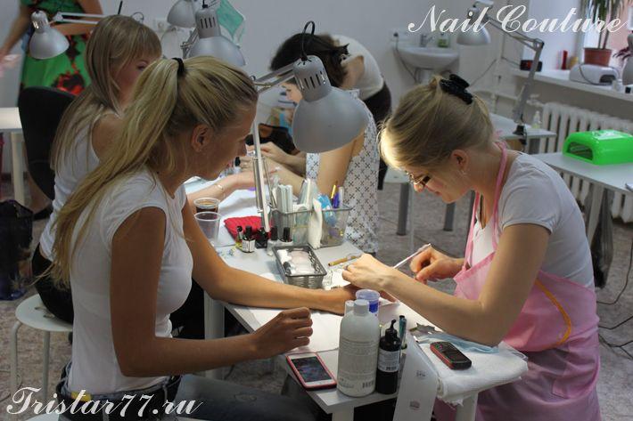Работы студентов Nail Couture  Курс и тренинги по моделированию ногтей Nail Couture http://www.tristar77.ru/