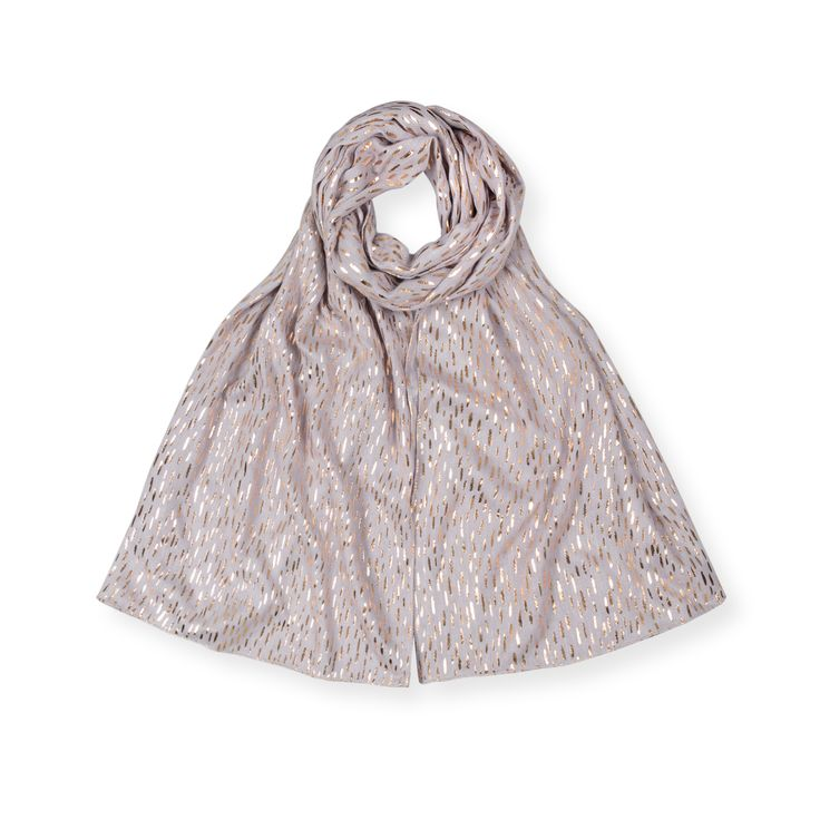 Buy the Dash Foil Print Scarf at Oliver Bonas. Enjoy free worldwide standard delivery for orders over £50.