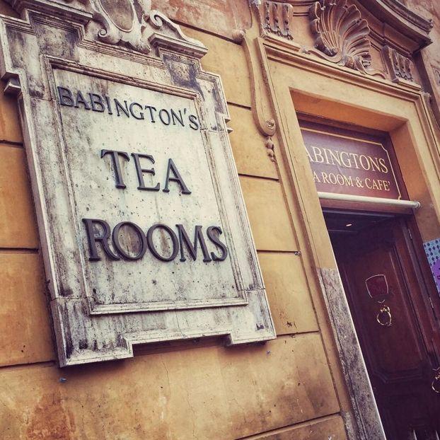 Babington's tea rooms