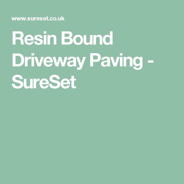 Resin Bound Driveway Paving - SureSet