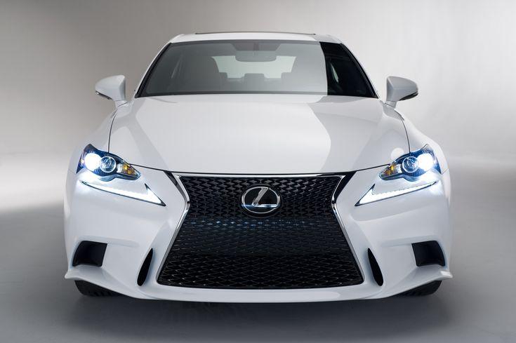 White Lexus Front Headlights #4237346
