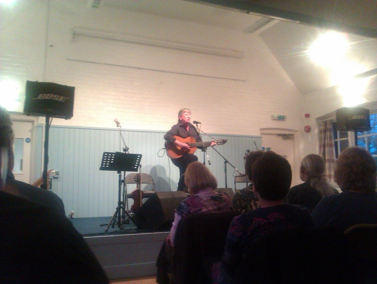 Fake Thackray performing at Bursledon Village Hall. Excellent intrpretation of jake Thackray's songbook with relevant patter.