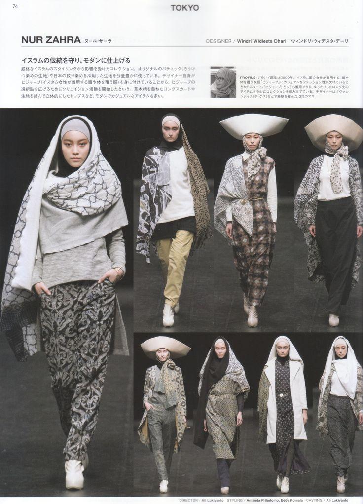 NurZahra in Fashion News Japan