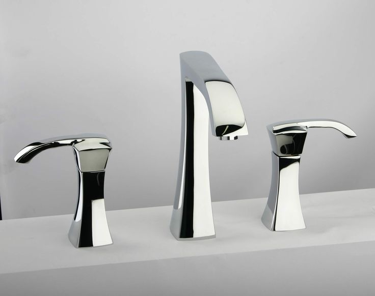Italian Bathroom Fixtures Beautiful Morgana Italian Widespread Bathroom Faucets Brushed Nickel