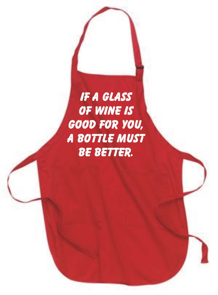 If a glass of wine is good for you a bottle must be better -  kitchen apron, hostess gift, birthday gift, gift for her, funny apron at $17.50 only . Smart shopping at https://www.etsy.com/listing/251094517/if-a-glass-of-wine-is-good-for-you-a?utm_source=mento&utm_medium=api&utm_campaign=api #housewares