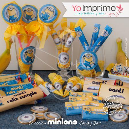 Minions - Candy Bar