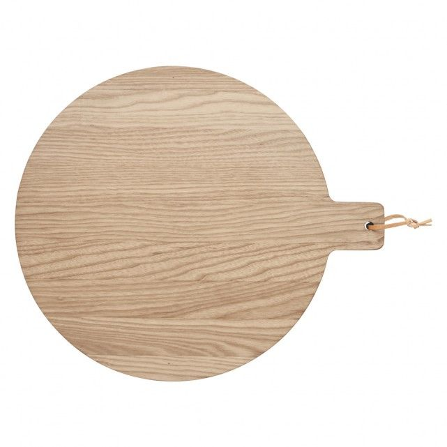 ALVIN Round wooden paddle board D30cm