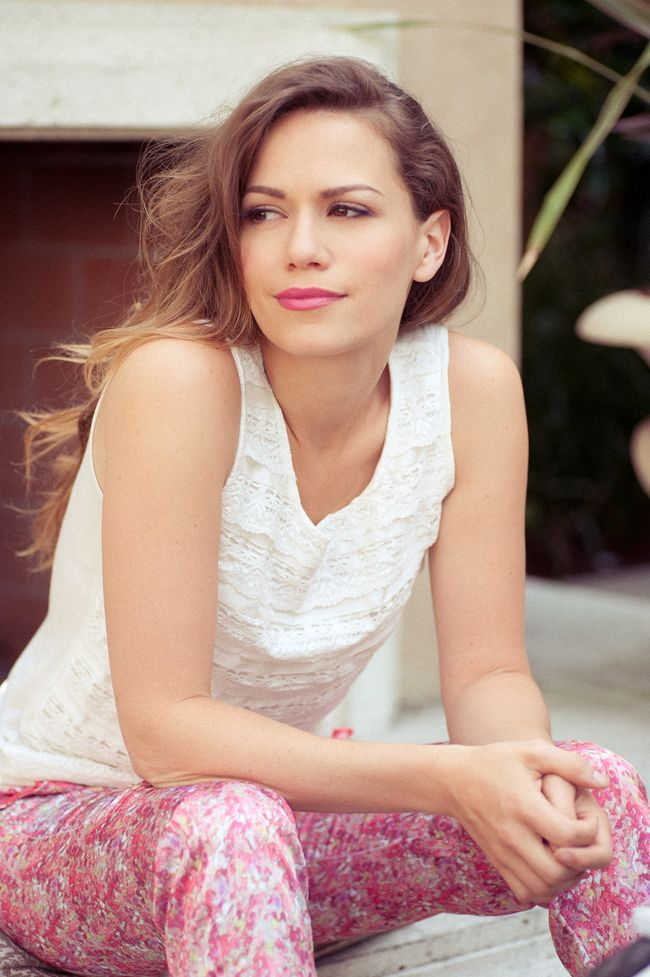 Bethany Joy, star of the hit TV show Dexter, in Ruche clothing! More on the blog.